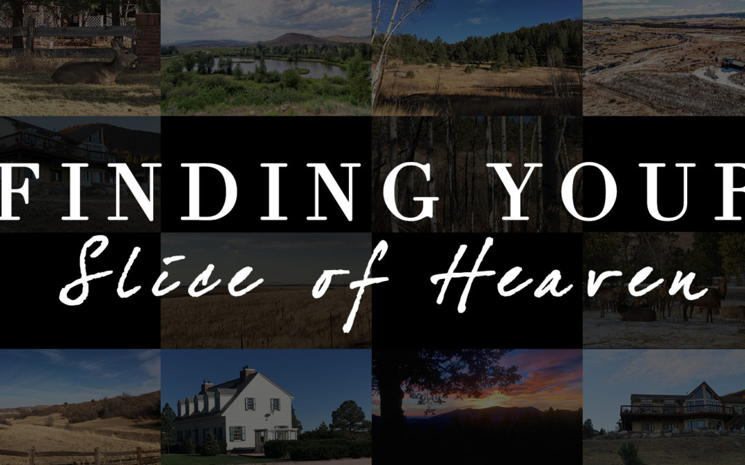 Finding Your Slice of Heaven – Buying Acreage Properties